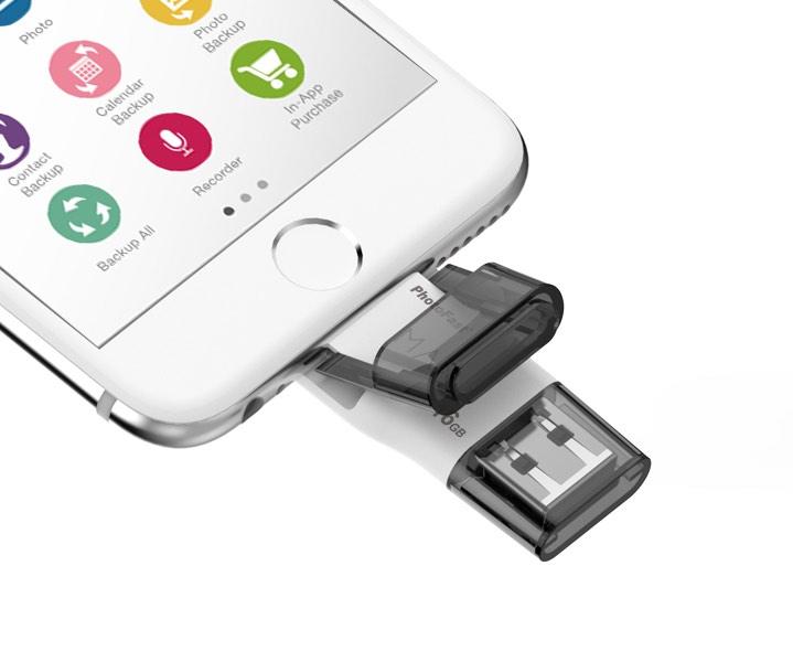 PhotoFast представляет аппарата для увеличения памяти эппл устройств