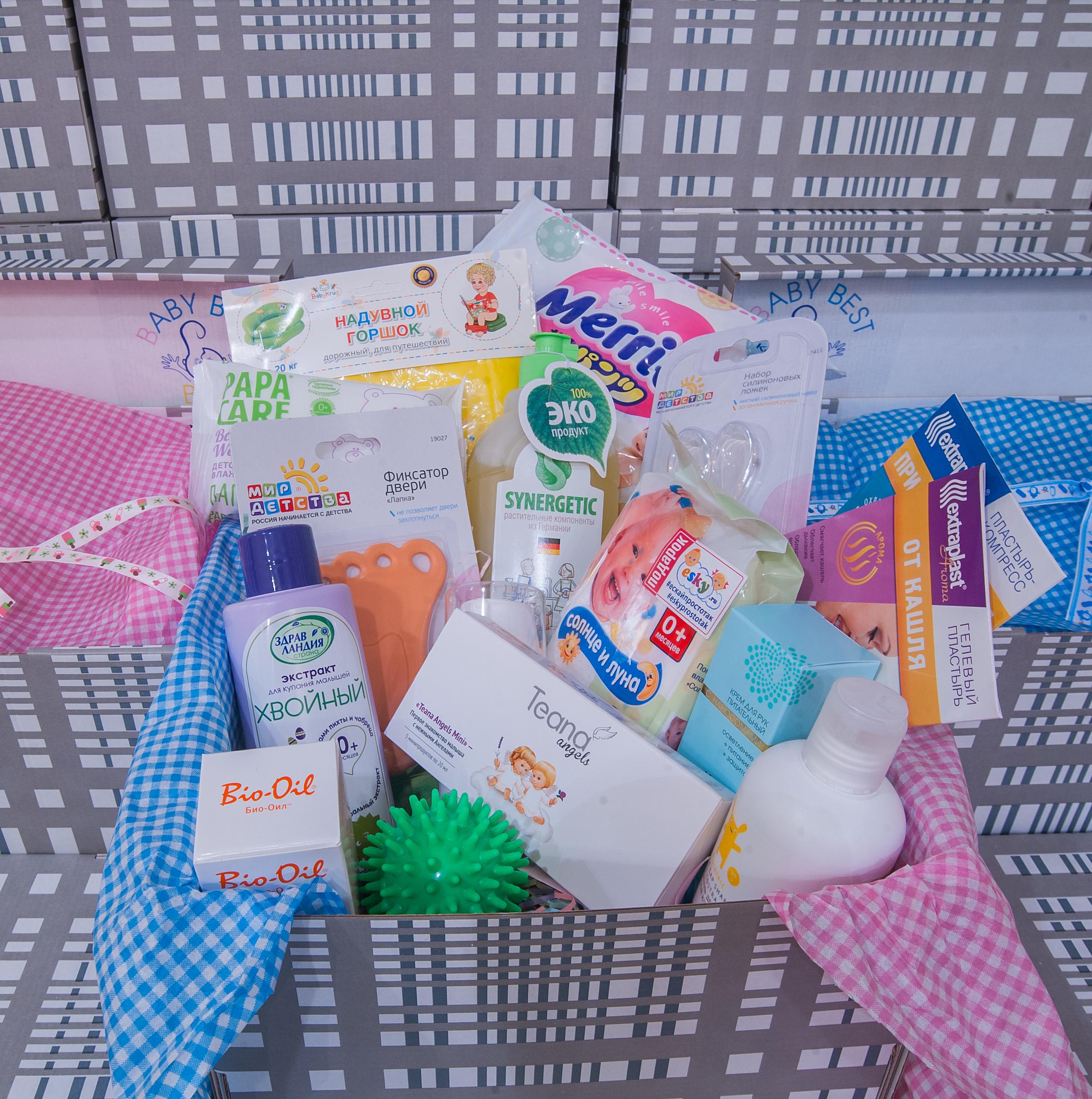 Товары « Мир детства» родители найдут в коробочке BabyBestBox