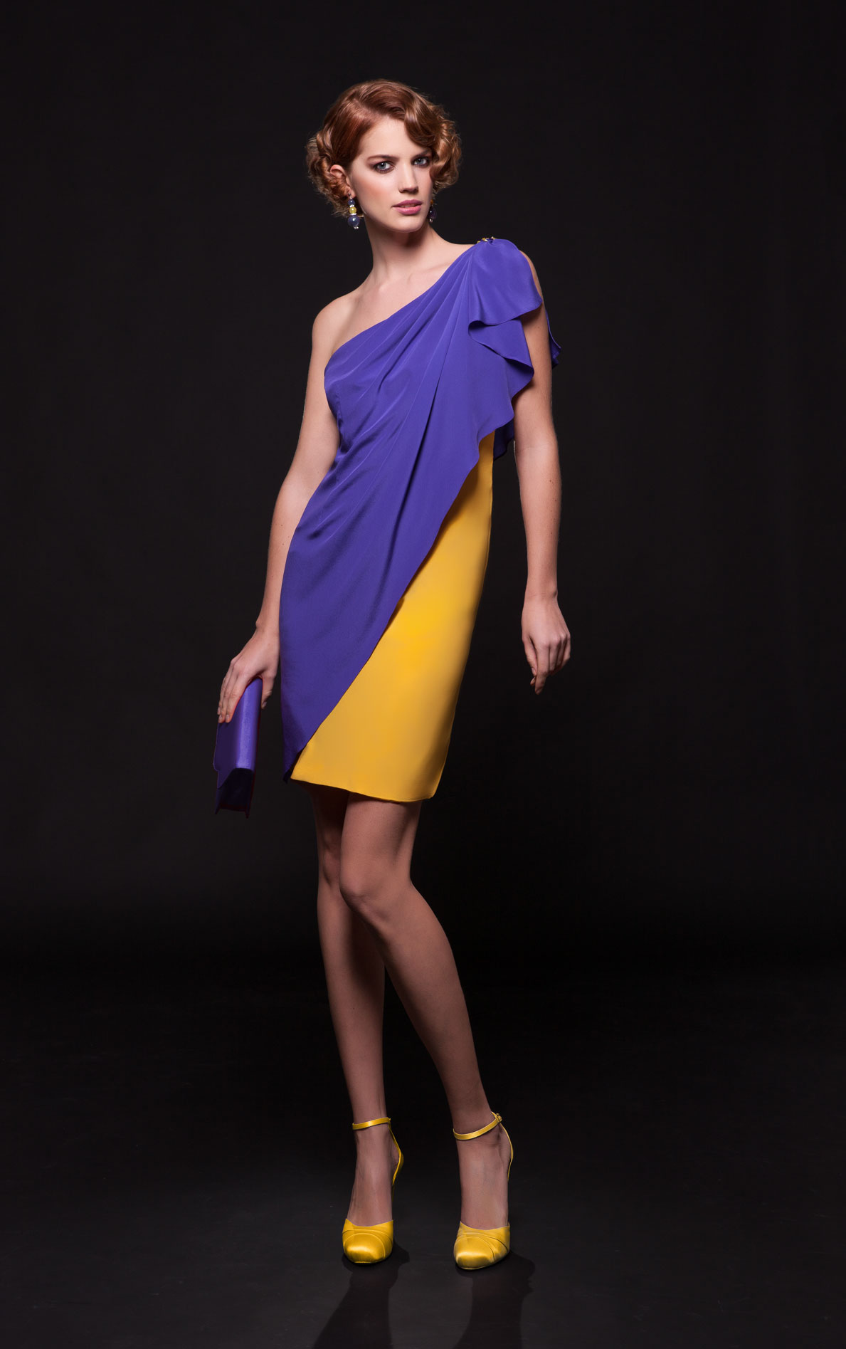 Glen Spose?создает вечерние и коктейльные летние платья по индивидуальному заказу в Риме