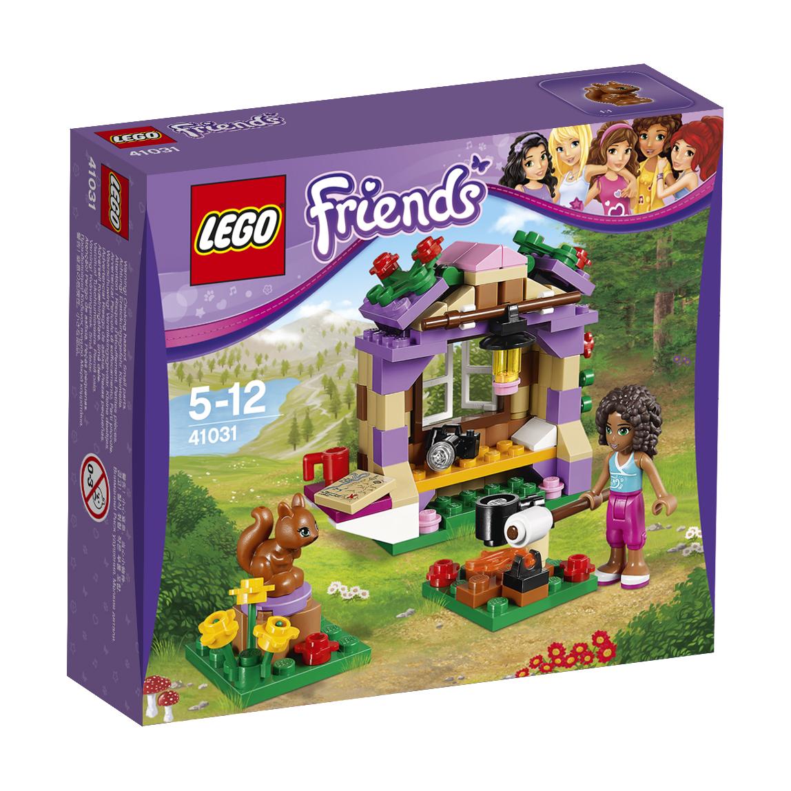 Спасение животных в джунглях или веселый отдых в г. с подружками LEGO Friends