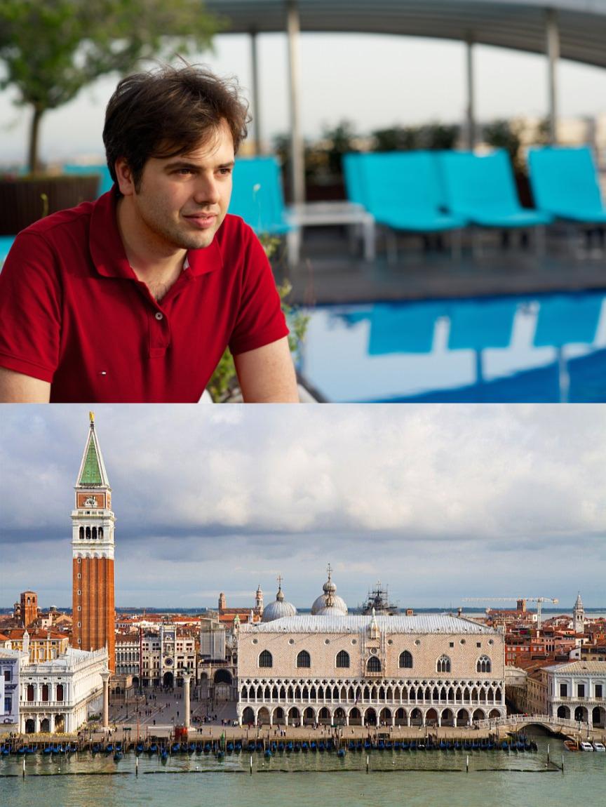 Италия и Россия, архитектура и декор: Джулио Гарджулло Как раз для долгожданного бизнес-события в Венеции