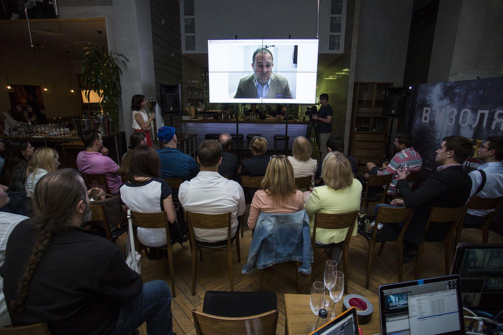 Телевизионный канал HISTORY пригласил гостей « Афимолл Сити» провести день « В=изоляции»