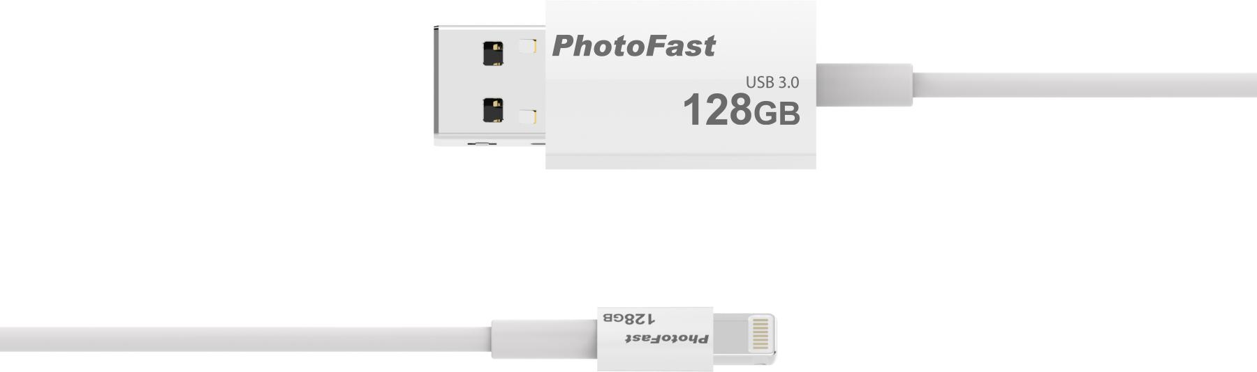 PhotoFast MemoriesCable 1M √═кабель с памятью для iOS