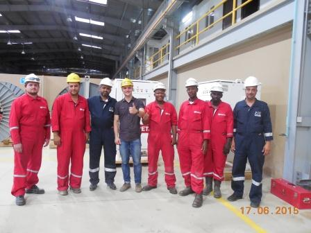 Тренинг по Триол АК01 в Кувейте!