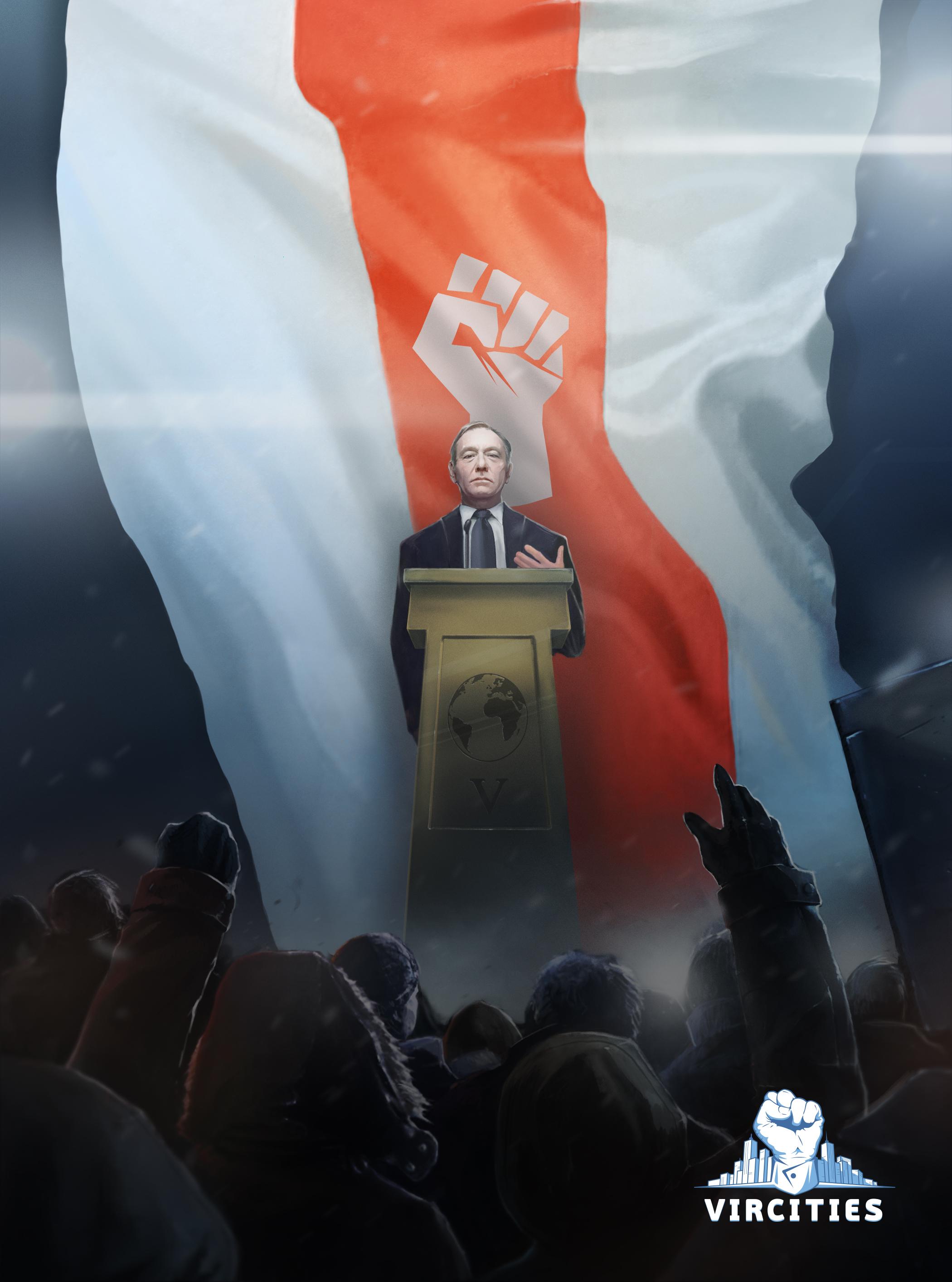 Мобильная политическая стратегия VirCities научит поляков и русских управлять политикой