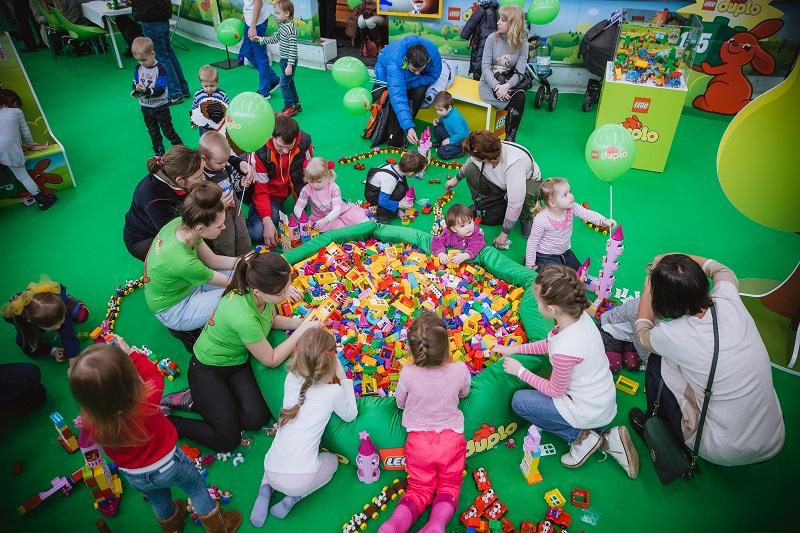 Встреча весны совместно с LEGO- при содействии Pro-Vision Communications