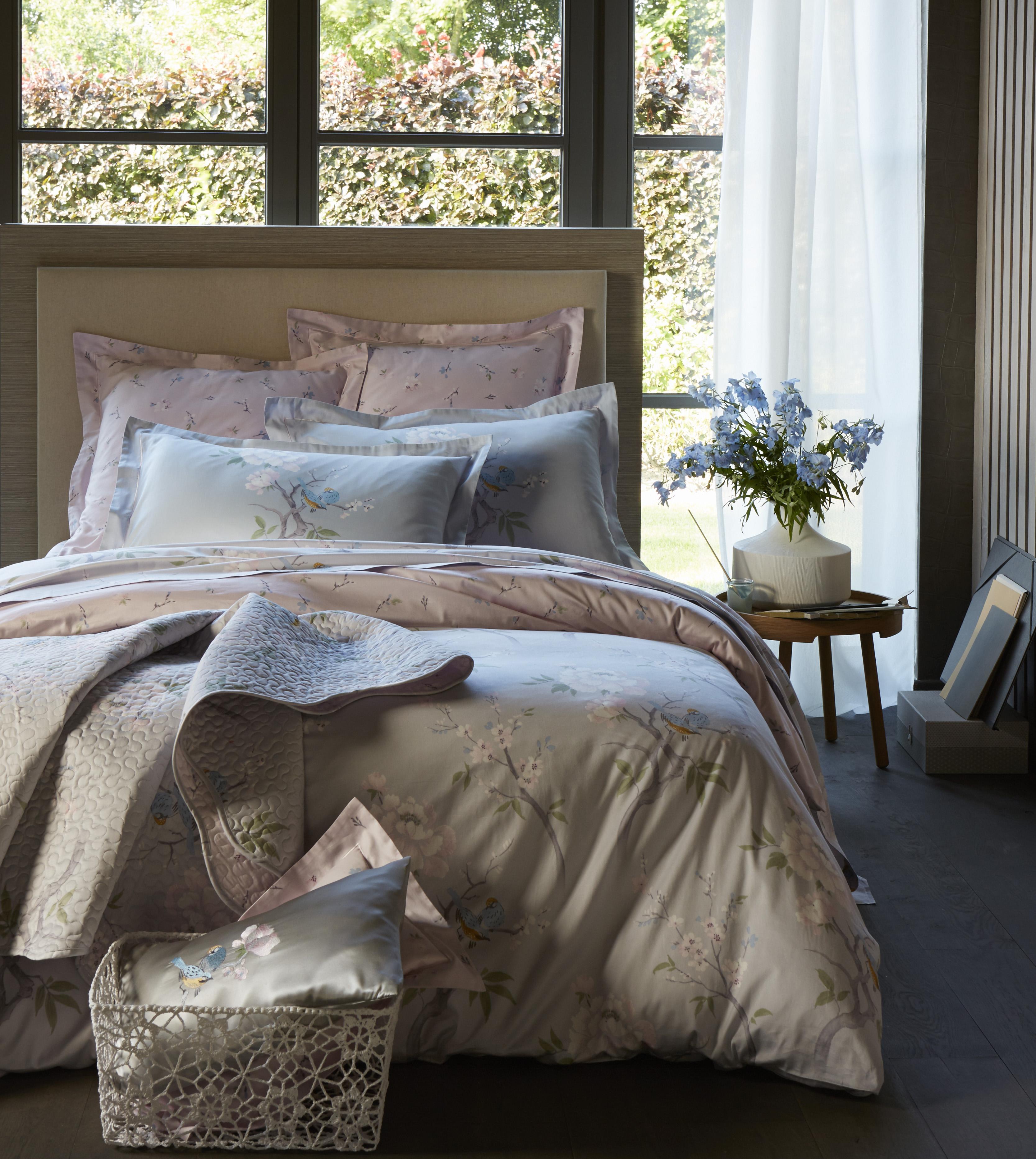 Новая коллекция постельного белья, полотенец и покрывал La Maison de Domitille for ERZIA 2015 года