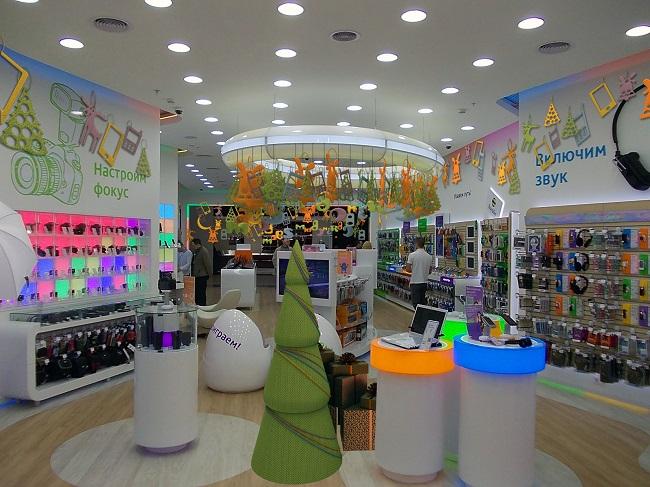 MBEgroup предлагает оформление торговых площадей к Новому году