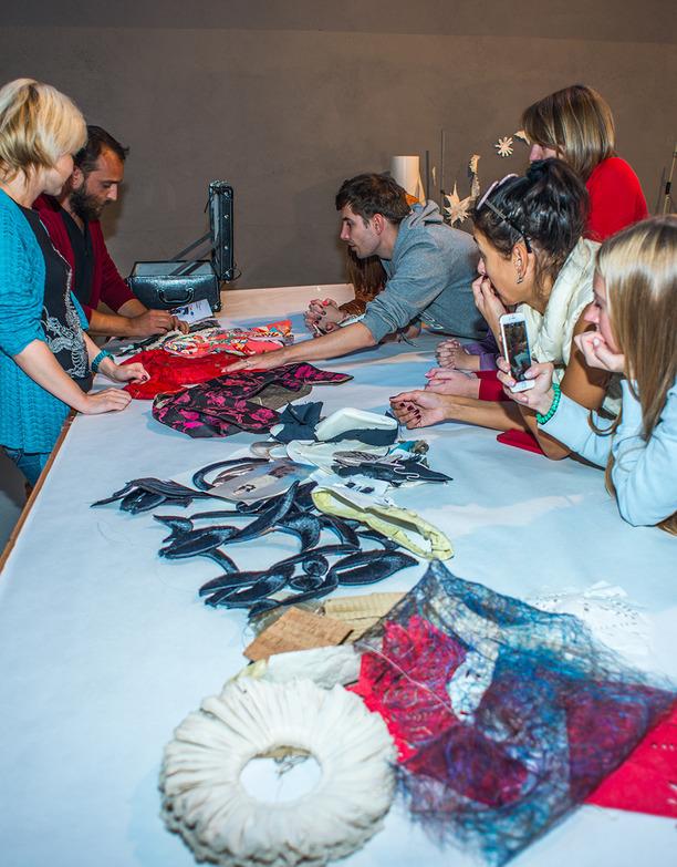 Россиийским кутюрье вручили дипломы итальянской академии дизайна одежды « Demi-Couture design»