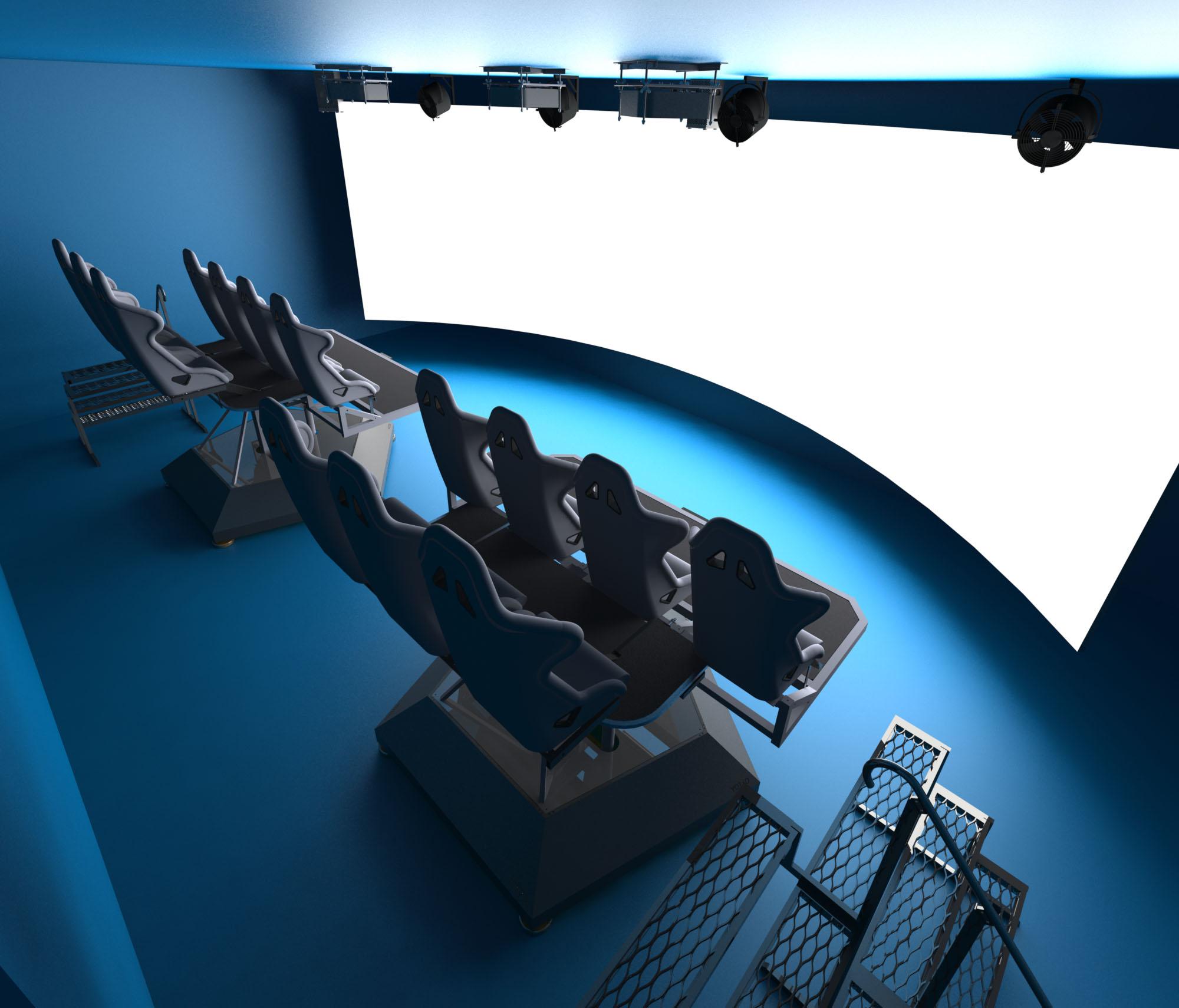В подмосковных Мытищах открылся масштабный интерактивный аттракцион виртуальной реальности ExoGame Cinema