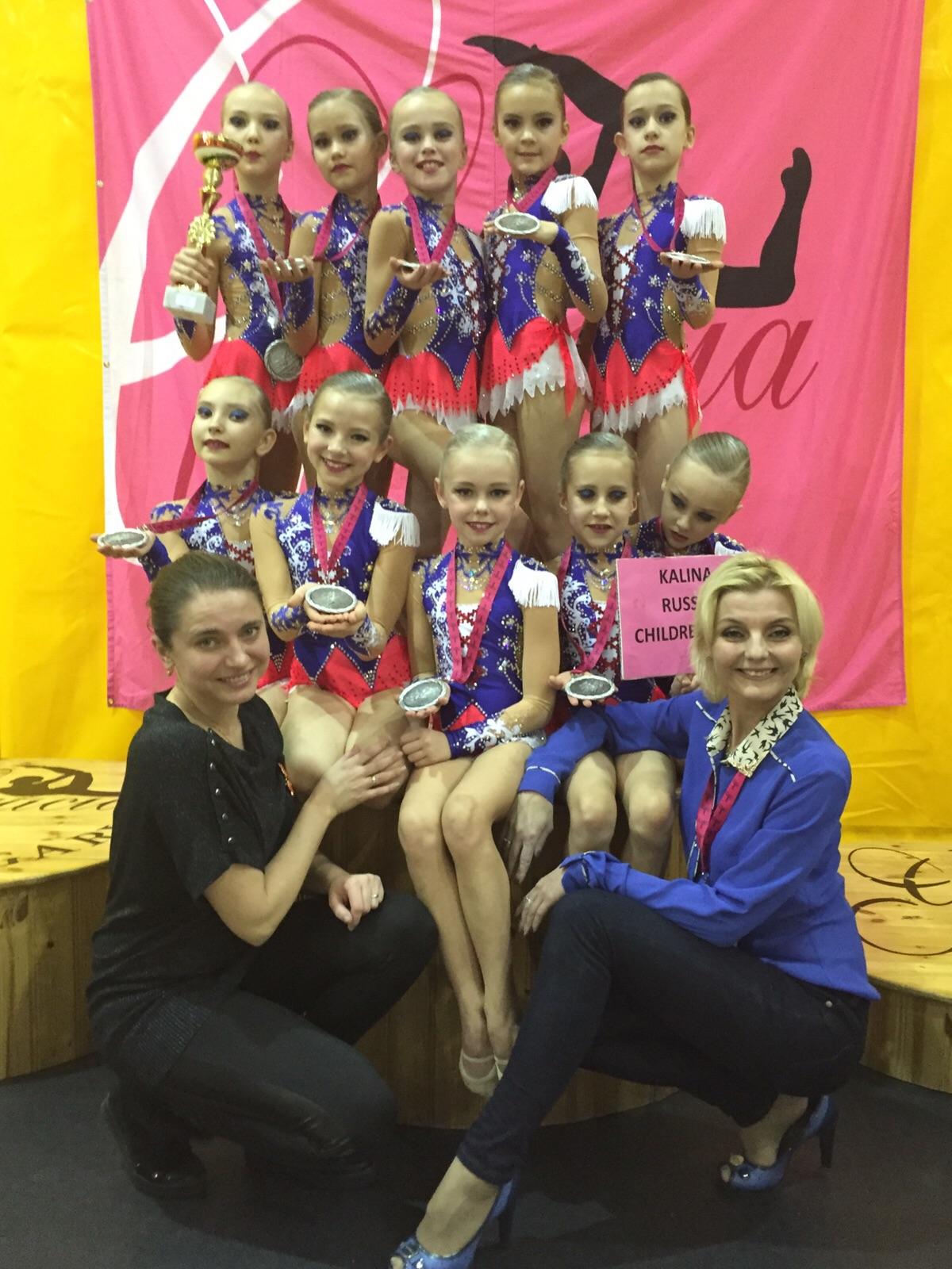 Гимнастки Свердловской области привезли два серебряных комплекта медалей с Кубка мира