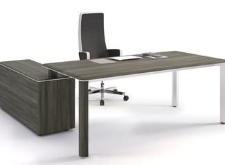 Фабрика LAS вывела на рынок современные офисные столы