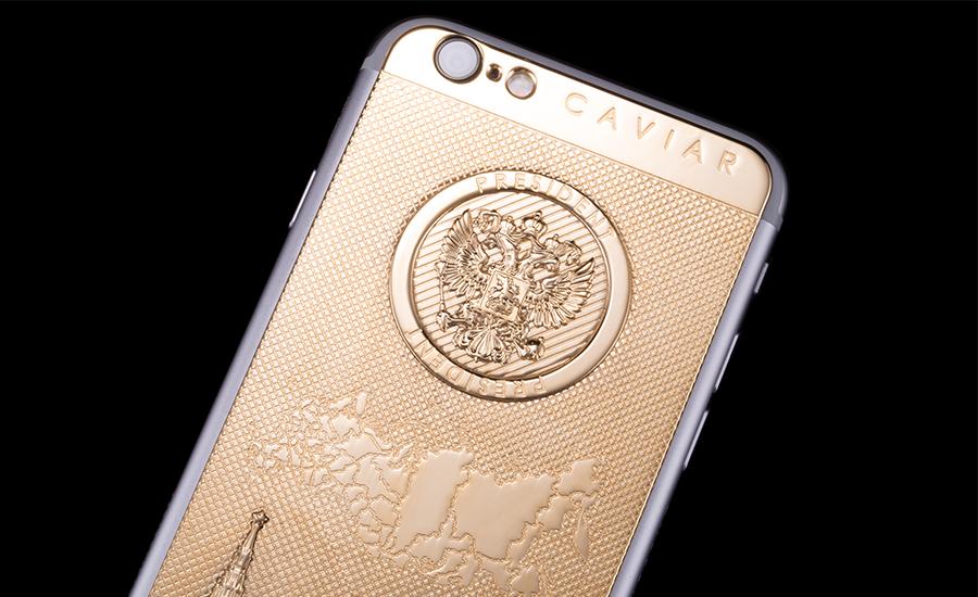 Создан новый Президентский iPhone