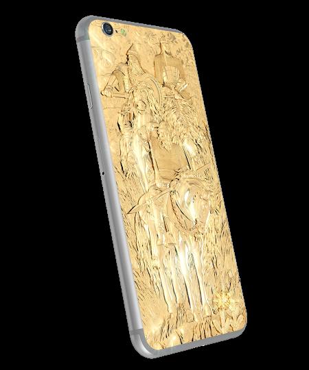 Новости рынка элитных смартфонов. Французский бренд LORDANO показал модель в русском стиле