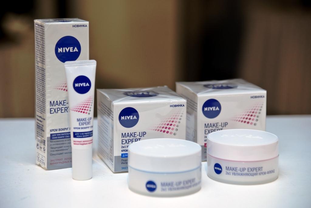NIVEA представила новую линию средств MAKE-UP EXPERT при содействии Pro-Vision