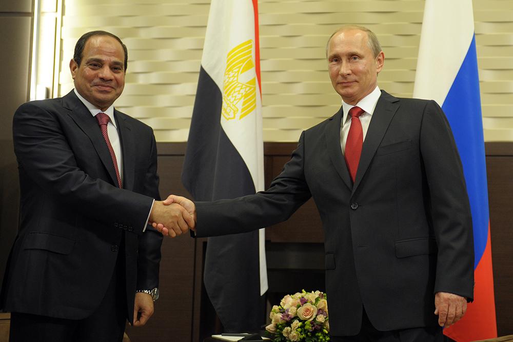 О визите Президента рф В. Путина в Египет